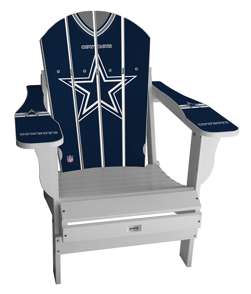 Dallas Cowboys Complete Custom with personalized name and number Jersey Chair Mini