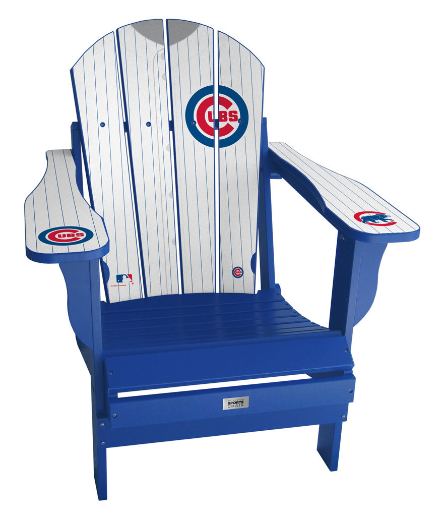 Chicago Cubs Complete Custom with personalized name and number Jersey Chair Mini
