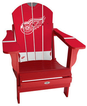 Detroit Red Wings® NHLPA Player Jersey Chair