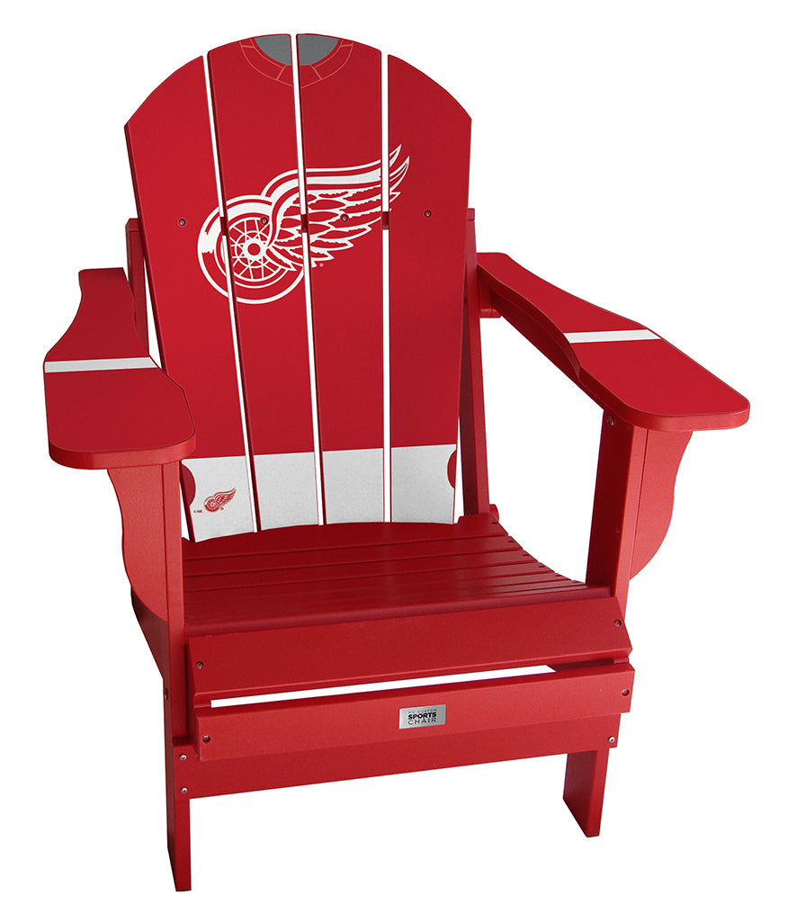 Detroit Red Wings® Complete Custom with personalized name and number Jersey Chair Mini