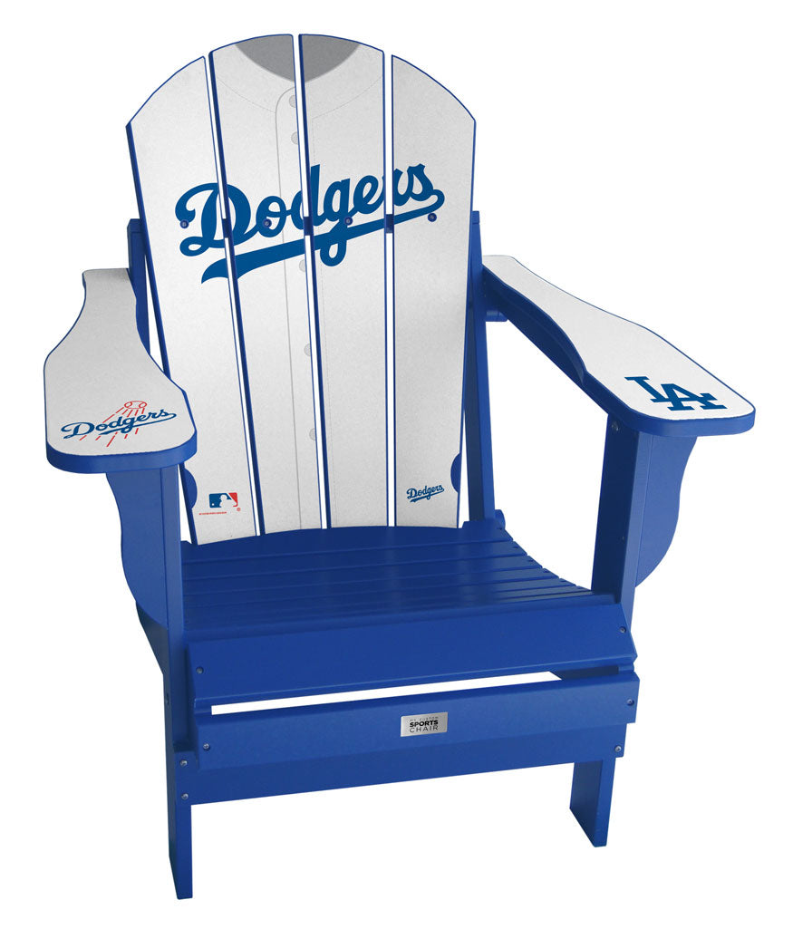 Los Angeles Dodgers Complete Custom with personalized name and number Jersey Chair