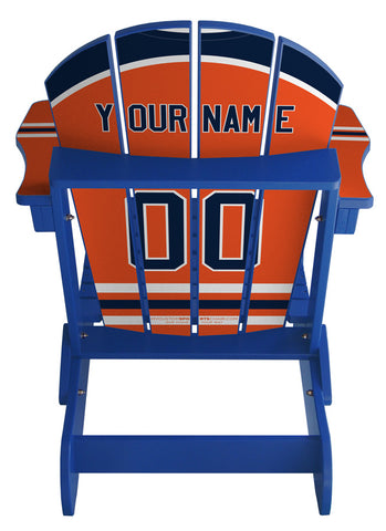 Edmonton Oilers® NHL Jersey Chair