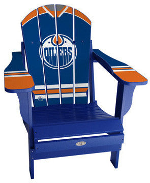 Edmonton Oilers® NHLPA Player Jersey Chair