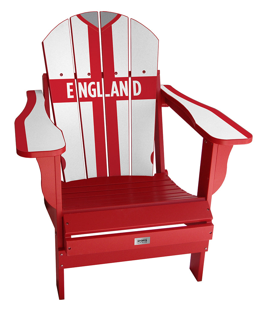 England Retro Complete Custom with personalized name and number Chair