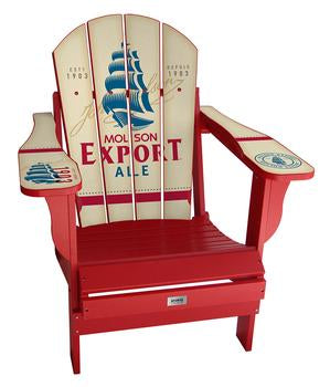 Molson Export Complete Custom with personalized name and number Chair Mini