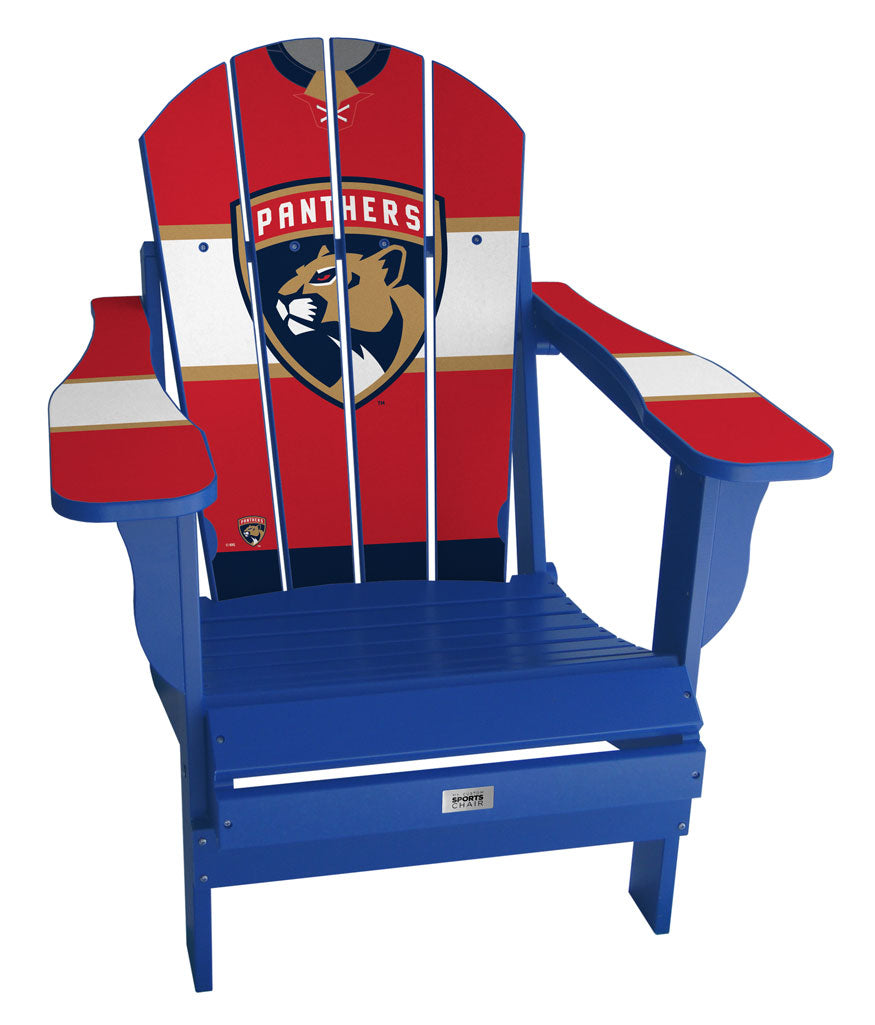Florida Panthers® Complete Custom with personalized name and number Jersey Chair