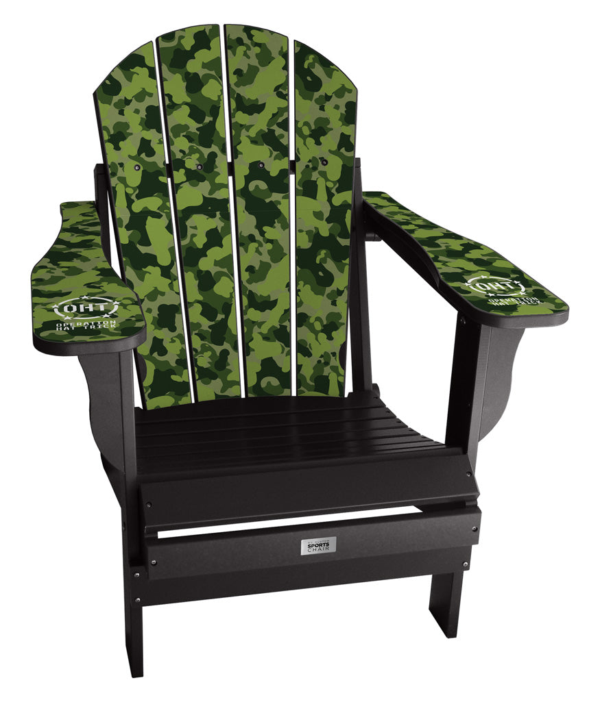 Green Camo Operation Hat Trick Complete Custom Lifestyle Chair Mini