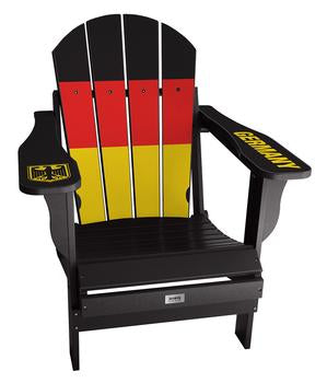 Germany Flag Complete Custom with personalized name and number Chair Mini