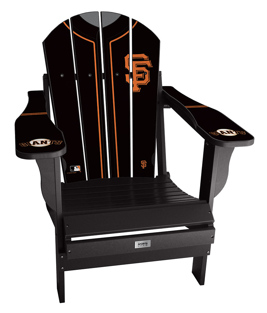 San Francisco Giants Complete Custom with personalized name and number Jersey Chair Mini
