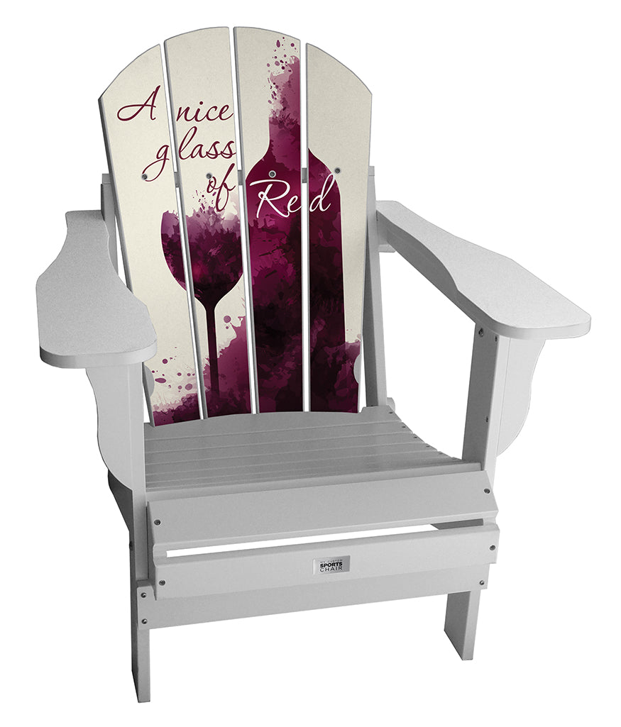 Glass of Red Lifestyle Chair