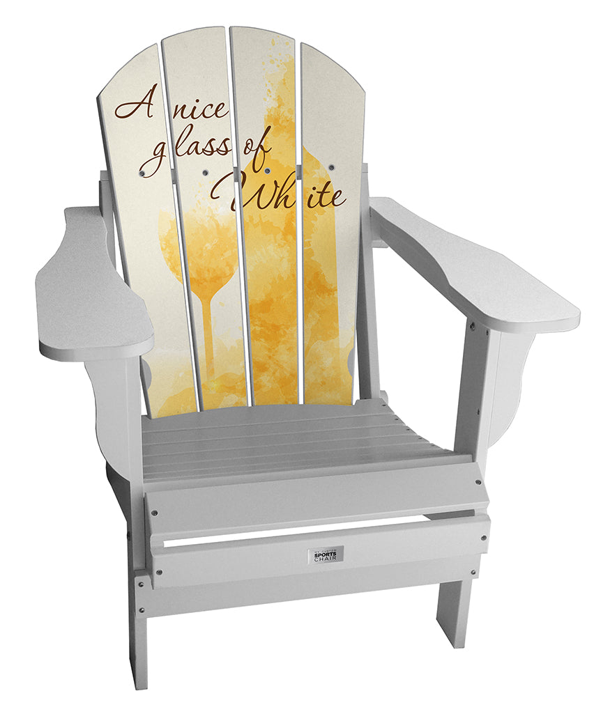 Glass of White Complete Custom Lifestyle Chair Mini