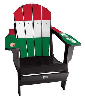 Hungary Flag Complete Custom with personalized name and number Chair Mini