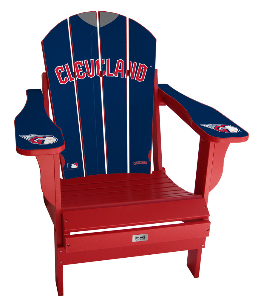 Cleveland Indians Complete Custom with personalized name and number Jersey Chair