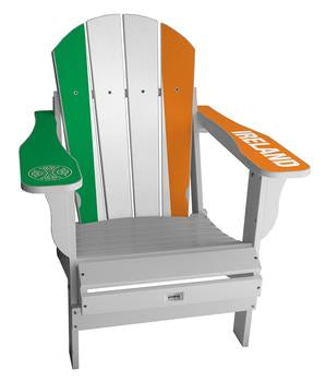 Ireland Flag Complete Custom with personalized name and number Chair Mini