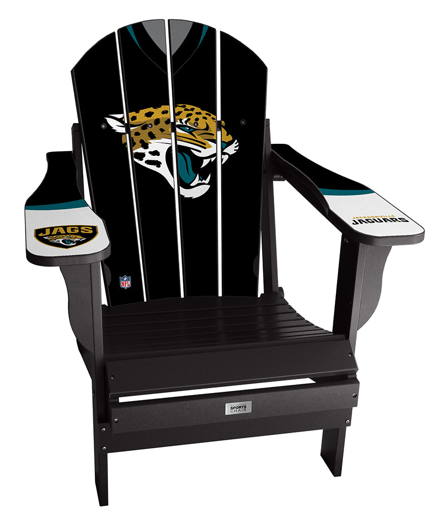 Jacksonville Jaguars Complete Custom with personalized name and number Jersey Chair