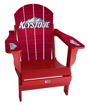 Keystone Lager Complete Custom with personalized name and number Chair Mini