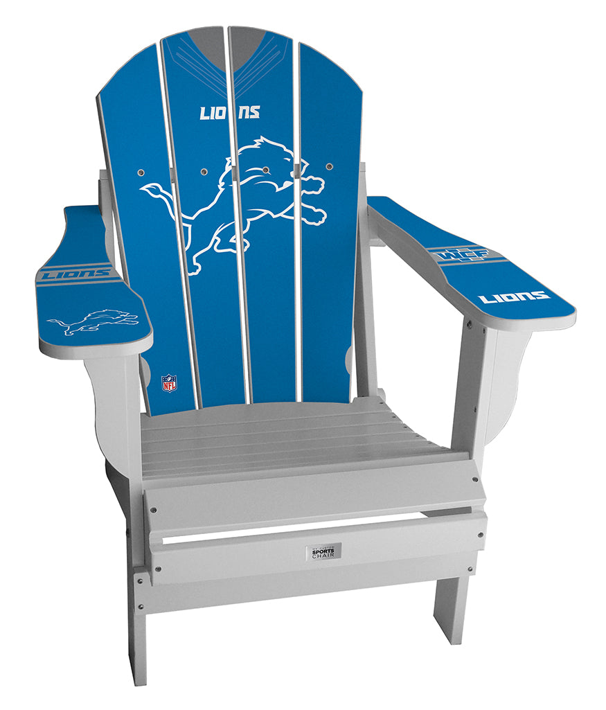 Detroit Lions Complete Custom with personalized name and number Jersey Chair