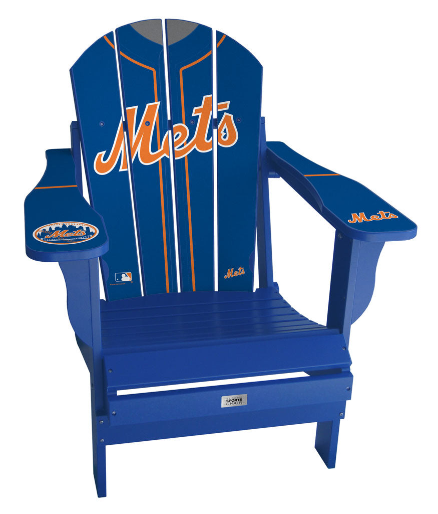 New York Mets Complete Custom with personalized name and number Jersey Chair Mini