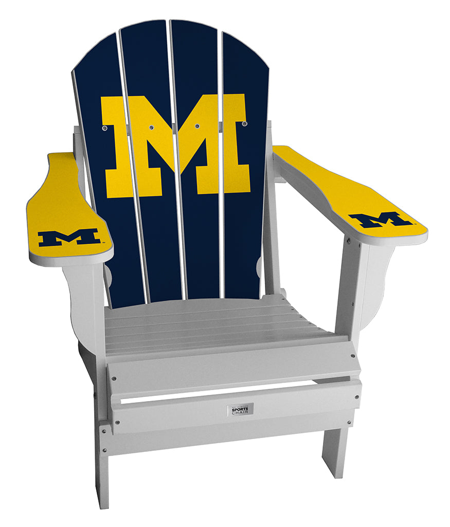 University of Michigan Complete Custom with personalized name and number Chair Mini