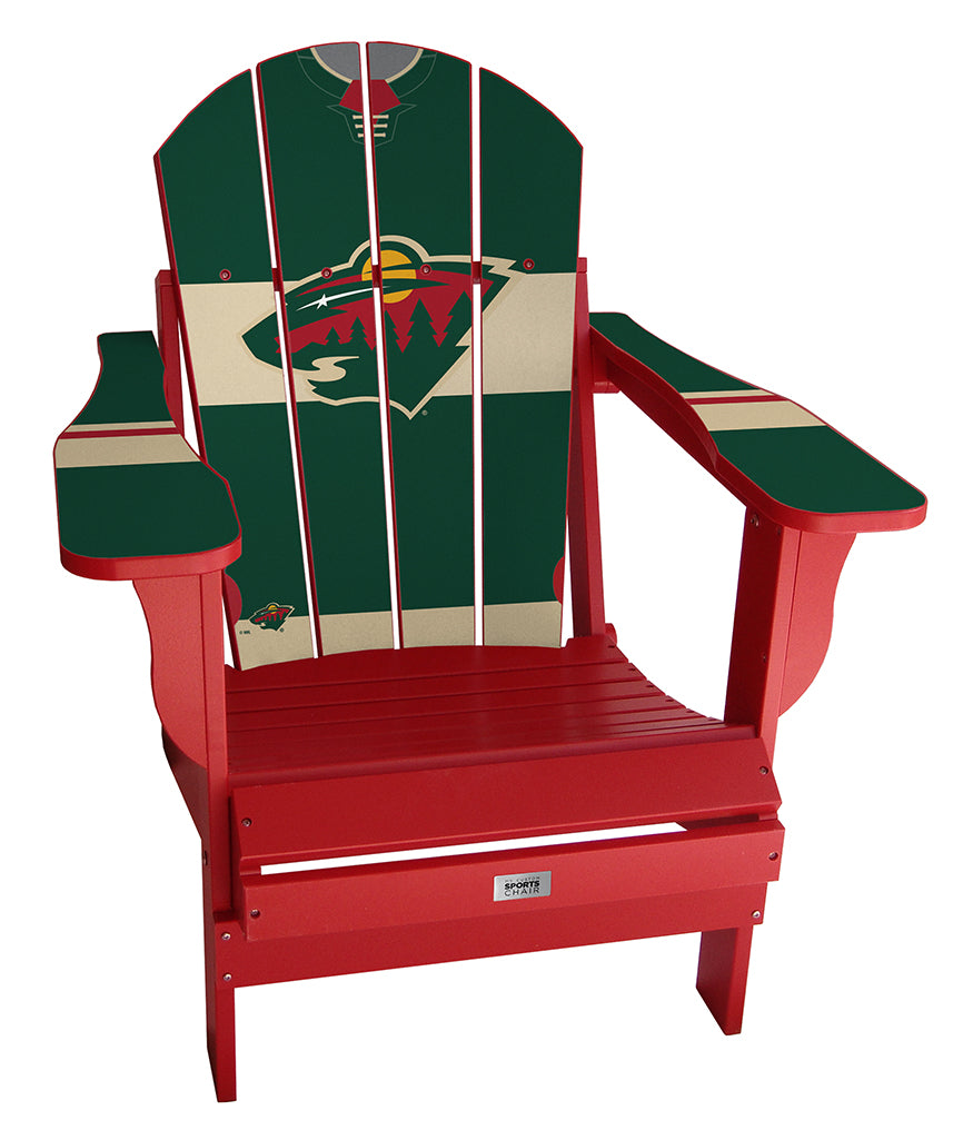 Minnesota Wild® Complete Custom with personalized name and number Jersey Chair