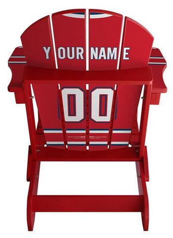 Molson Canadian Red Custom Sports Chair
