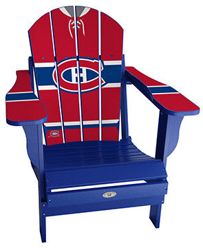 Montreal Canadiens® NHLPA Player Jersey Chair