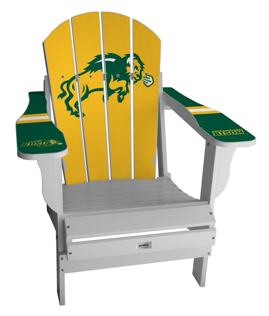 North Dakota State University Complete Custom with personalized name and number Chair