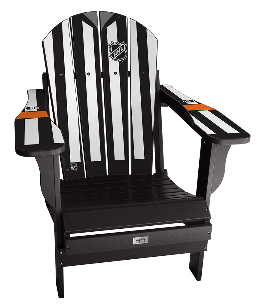 Complete Custom Number NHL® Referee Chair