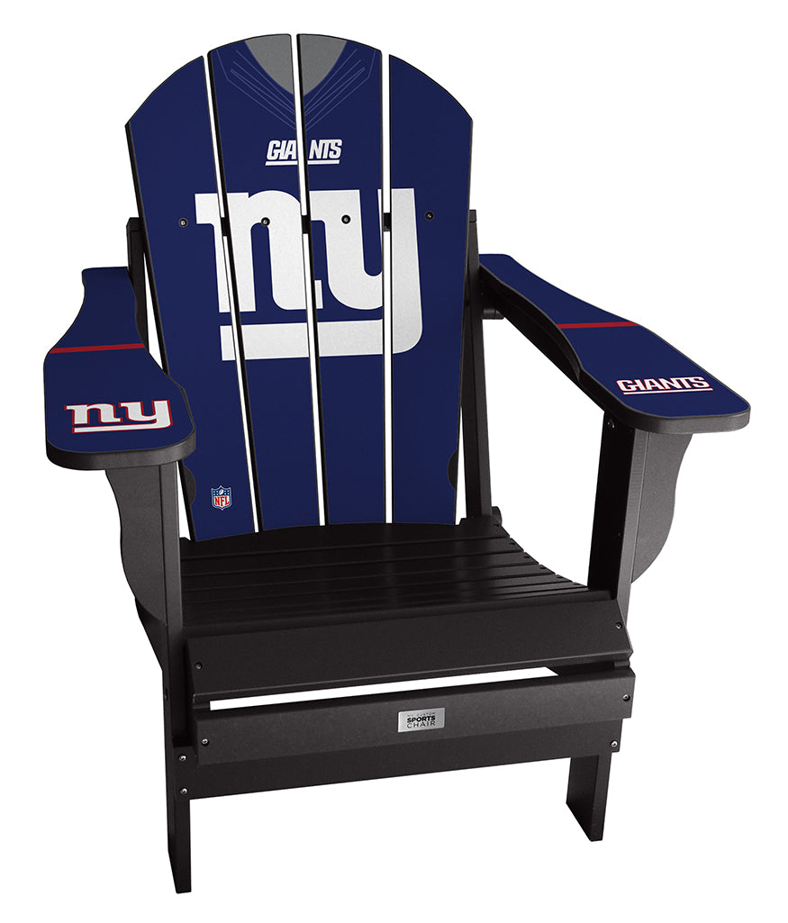 New York Giants Complete Custom with personalized name and number Jersey Chair