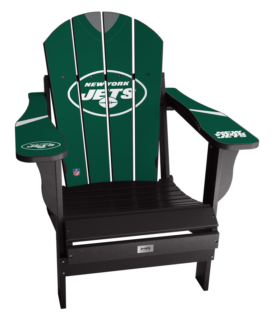 New York Jets Complete Custom with personalized name and number Jersey Chair
