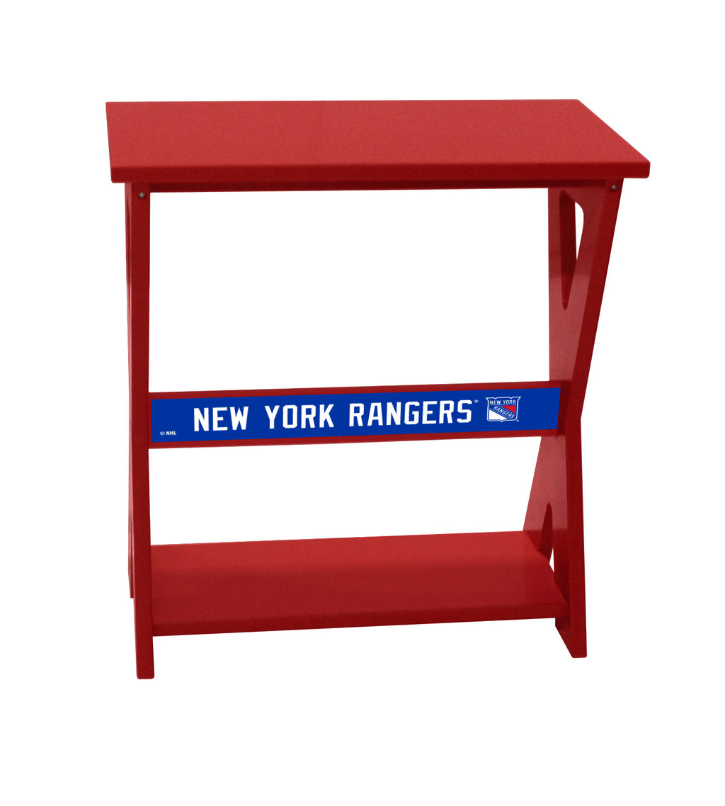 New York Rangers® NHL End Table