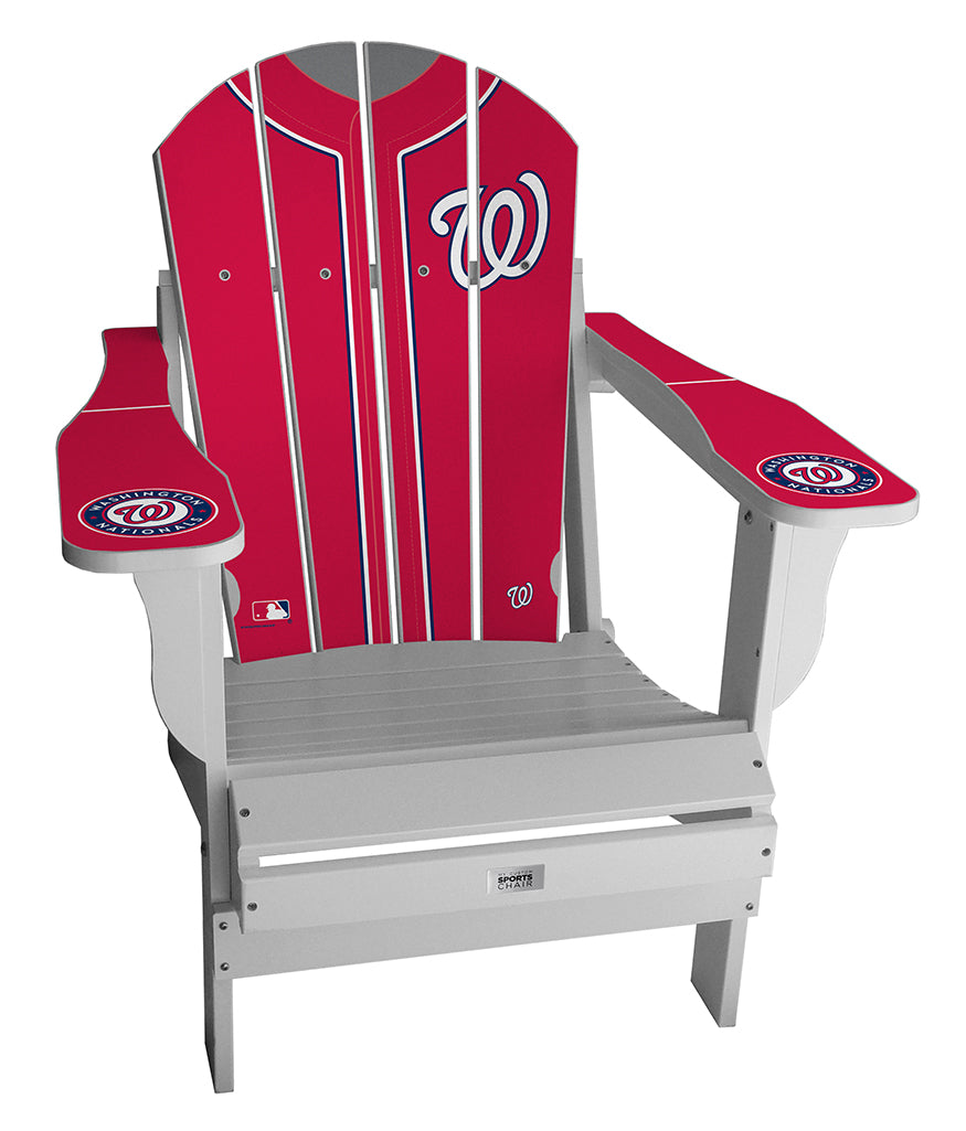 Washington Nationals MLB Jersey Chair