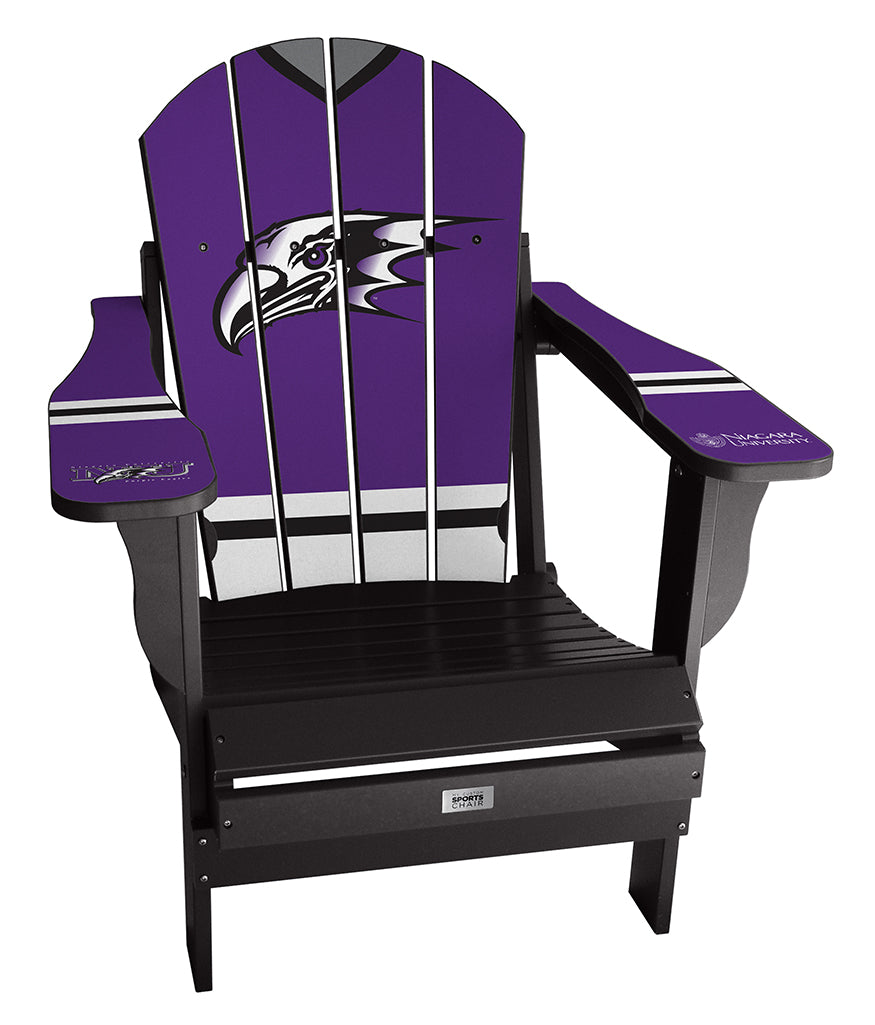 Niagara University Complete Custom with personalized name and number Chair