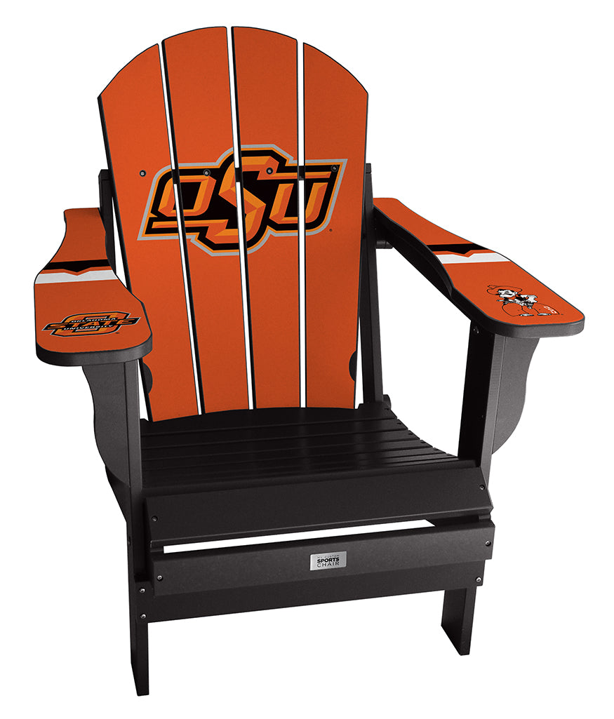 Oklahoma State Complete Custom with personalized name and number Chair Mini