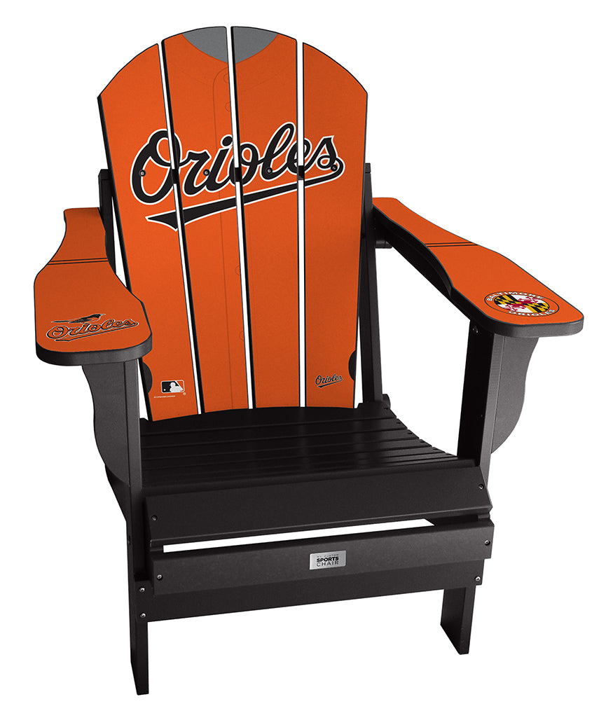 Baltimore Orioles Complete Custom with personalized name and number Jersey Chair