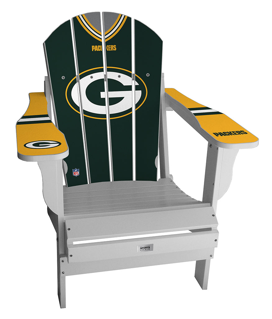 Green Bay Packers Complete Custom with personalized name and number Jersey Chair
