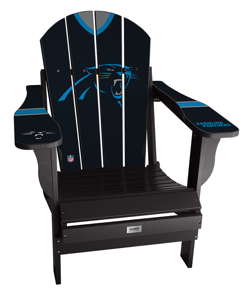 Carolina Panthers Complete Custom with personalized name and number Jersey Chair