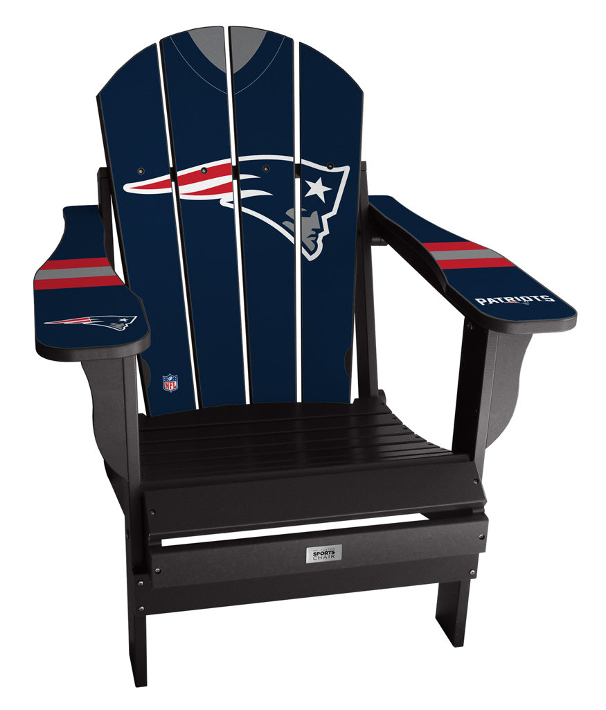 New England Patriots Complete Custom with personalized name and number Jersey Chair