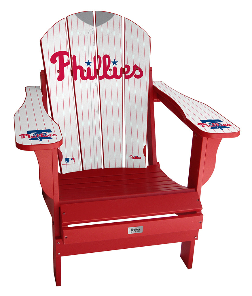Philadelphia Phillies Complete Custom with personalized name and number Jersey Chair