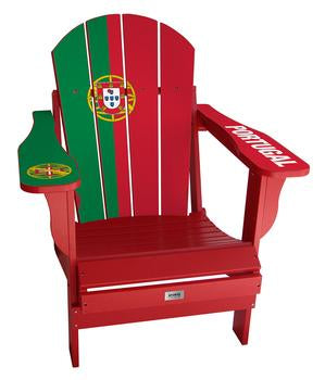 Portugal Flag Complete Custom with personalized name and number Chair Mini