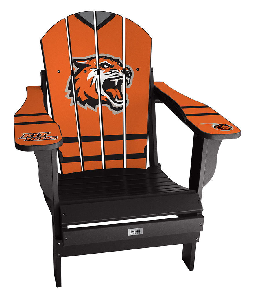 Rochester Institute of Technology Complete Custom with personalized name and number Chair Mini