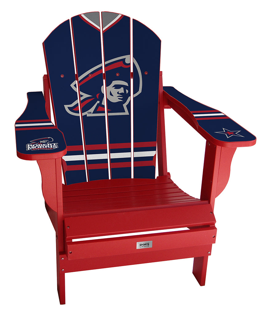 Robert Morris University Complete Custom with personalized name and number Chair Mini