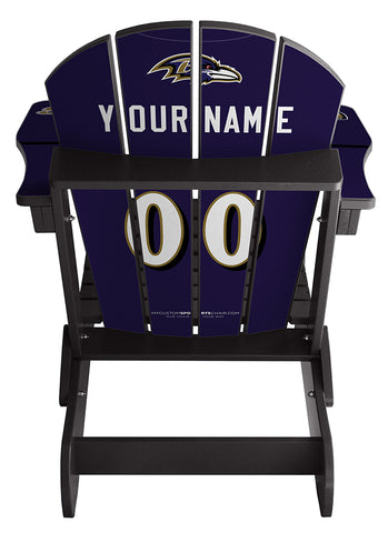 Baltimore Ravens NFL Jersey Chair