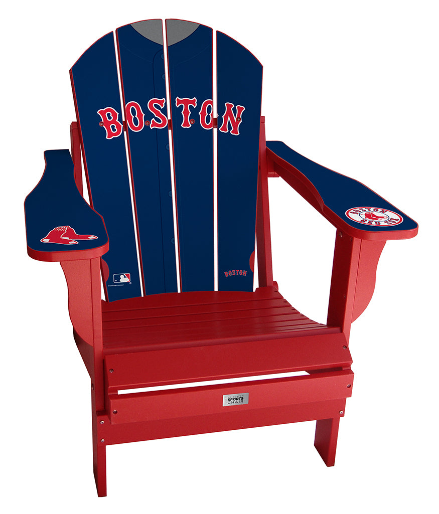 Boston Red Sox Complete Custom with personalized name and number Jersey Chair