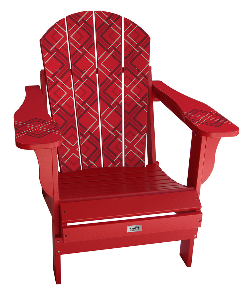 Red Square Complete Custom Lifestyle Chair