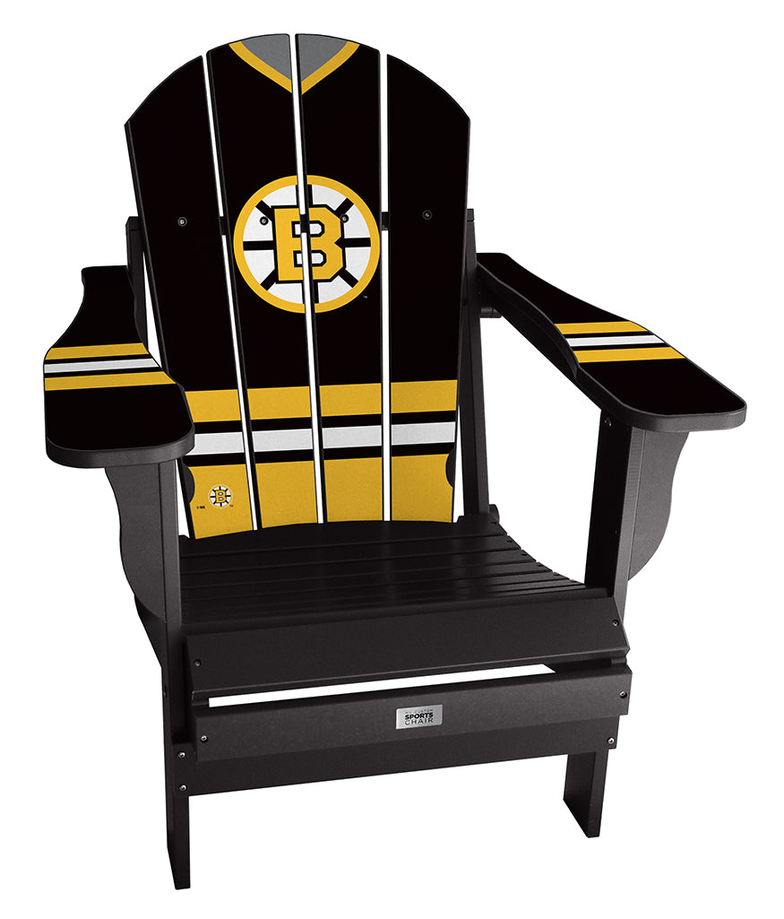 Vintage Boston Bruins™ Complete Custom with personalized name and number Jersey Chair