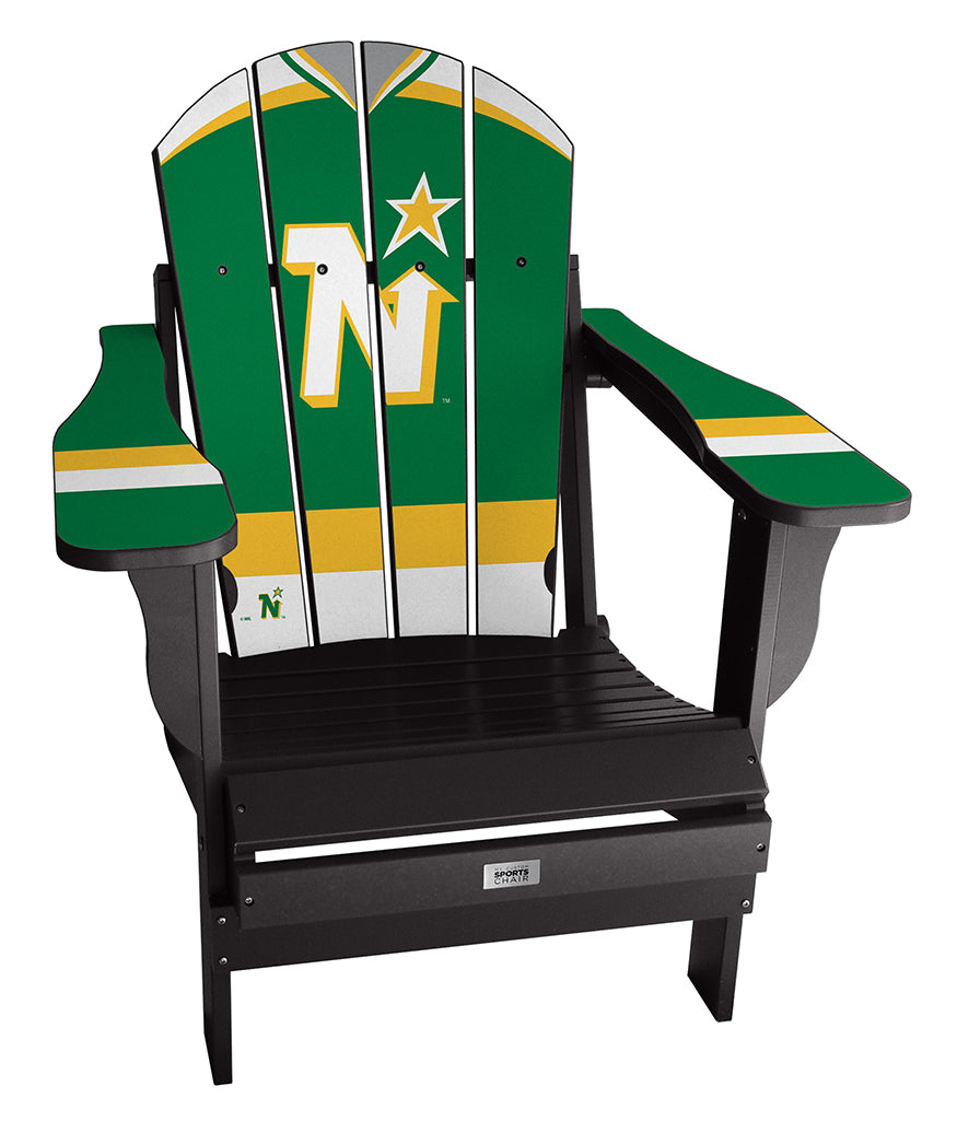 Vintage Minnesota North Stars™ Complete Custom with personalized name and number Jersey Chair