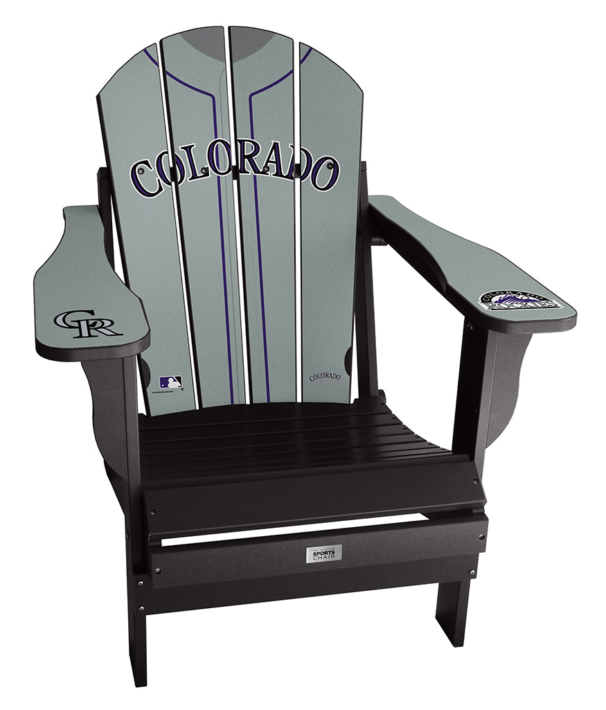 Colorado Rockies Complete Custom with personalized name and number Jersey Chair