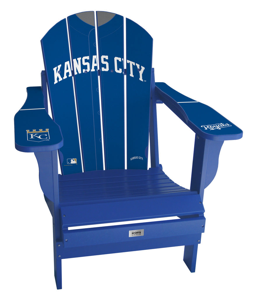 Kansas City Royals Complete Custom with personalized name and number Jersey Chair