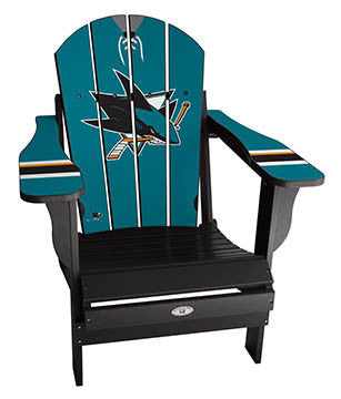 San Jose Sharks® NHLPA Player Jersey Chair
